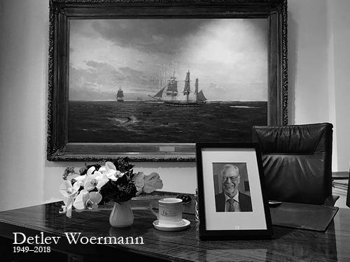 Detlev Woermann (1949-2018)