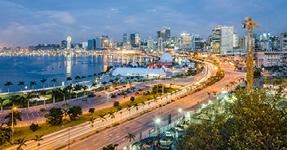 Das Hauptgebäude in Luanda, Angola