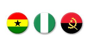 Verbundene Unternehmen betreiben wir in Ghana, Nigeria und Angola