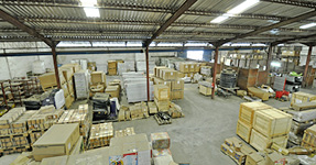 The warehouse in Nigeria