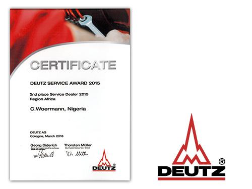 DEUTZ Service Award 2015
