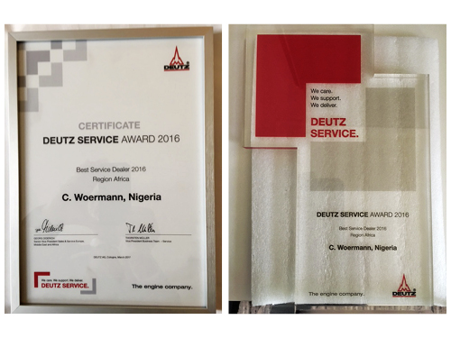 Deutz Service Award 2016
