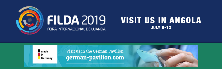 Visit us in Luanda, Angola at Filda 2019: July 9-13